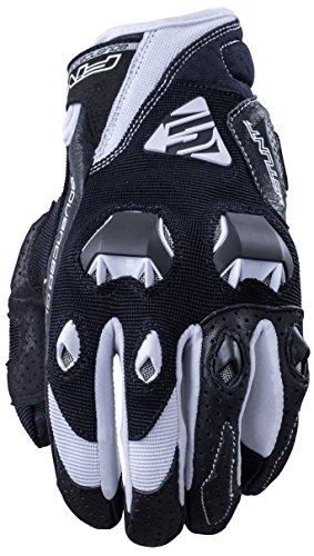 Fünf Advanced Handschuhe Stunt Evo Erwachsene Handschuhe, Schwarz/Weiß, Gr. 13