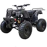 X-PRO ATV Quad 4 Wheelers Utility ATV Full Size ATV Quad Adult ATVs Big Youth ATVs for Sale(Black)