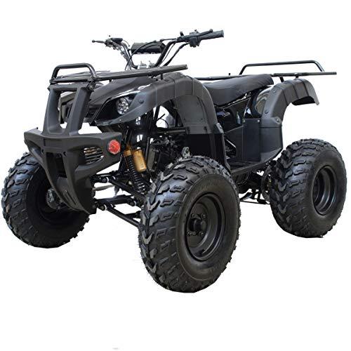 X-PRO ATV Quad 4 Wheelers Utility ATV Full Size ATV Quad Adult ATVs Big Youth ATVs for Sale(Black) Hawaii