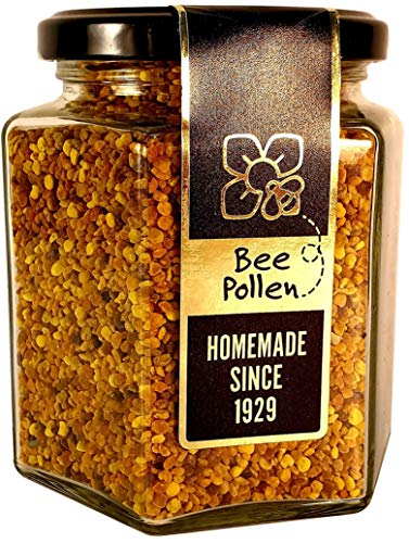 Bee Pollen 270g – Raw & Natural Ethically harvested Superfood. Boosts Your Vitality and Immune System. Packaged with Sustainable, Recyclable Materials.