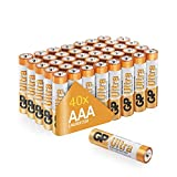AAA Batteries Pack of 40 GP Batteries|Superb operating time 1.5V – Micro –