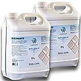 LordsWorld Pool Care - 10Lt (2 X 5Lt) Svernante Liquido Trattamento Invernale Chiusura Piscina - Svernante Liquido Trattamento Invernale Piscina - Liquido per Invernamento Piscina - SVERNANTE-10LT