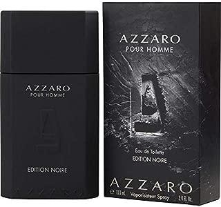 Azzārŏ Pŏur Hŏmme Noir Edition Cologne for Men 3.4 fl. Oz / 100 ml Eau De Toilette Spray