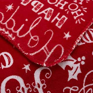 Mainstay Red Holiday Plush Throw Blanket 50 x 60