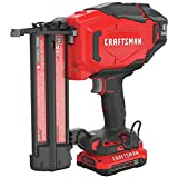 Best Cordless Finish Nailers - Craftsman CMCN618C1R 20V Lithium-Ion 18 Gauge Cordless Brad Review