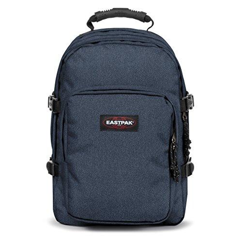 Eastpak Provider Mochila Tipo Casual, Diseño Double Denim, 33 Litros, Color Azul