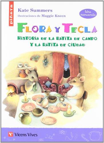 Flora Y Tecla (letra Manuscrita) (Colección Piñata) - 9788431680787