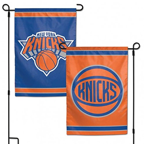 WinCraft NBA New York Knicks Flag12x18 Garden Style 2 Sided Flag, Team Colors, One Size