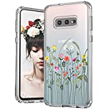 MOSNOVO Galaxy S10e Case, Wildflower Flower Floral Pattern