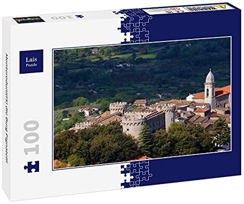 Lais Puzzle Monteroduni(IS) el Castillo de Pignatelli 100 Piezas