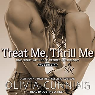 Treat Me, Thrill Me audiobook cover art