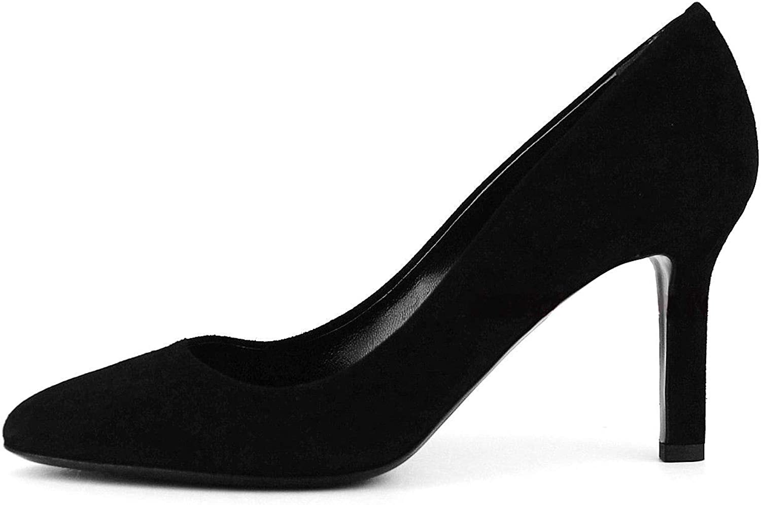 Tamara Mellon shoes Designer Jimmy Choo Black Suede Leather 3  Heel SZ 8-38 New