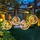 50FT LED G40 Globe String Lights, Shatterproof Outdoor Patio String Lights