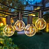50FT LED G40 Globe String Lights, Shatterproof Outdoor...