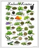 1art1 Kochkunst Poster Kunstdruck und Kunststoff-Rahmen -