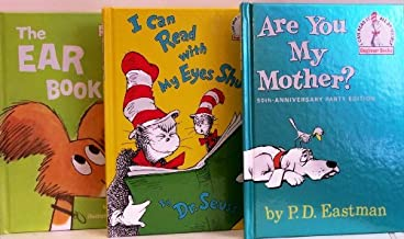Are You My Mother? / I Can Read with My Eyes Shut / The Ear Book - 3 Book Set (I Can Read It Beginner Books)