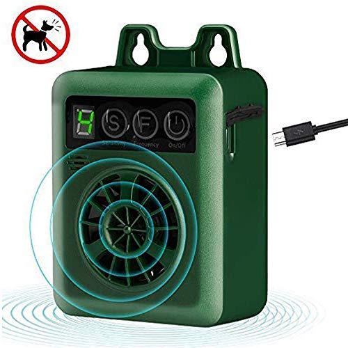 Zigzagmars Bellen Kontrollgerät, 15 m Reichweite, Anti-Bell-Gerät, Mini-Outdoor-Bell-Kontrollgeräte, Sonic-Hundeabwehrmittel