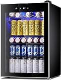 Antarctic Star Beverage Refrigerator Cooler-120 Can Mini Fridge Glass Door for Soda Beer Wine...