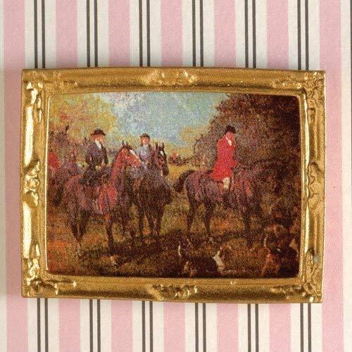le Dolls House Emporium Image avec Chevaux sur le Chasse