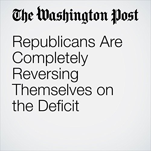 Republicans Are Completely Reversing Themselves on the Deficit copertina