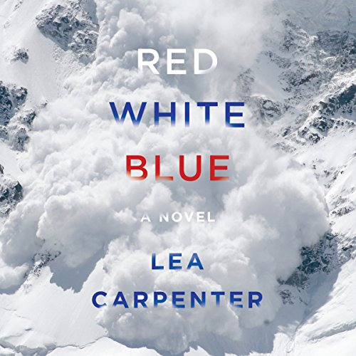 Red, White, Blue audiobook cover art