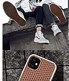 Carcasa para iPhone 11, suela de zapatilla marrón y blanco