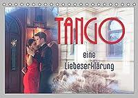 Tango eine Liebeserklaerung (Tischkalender 2022 DIN A5 quer): Tango - getanzte Leidenschaft und Liebe (Monatskalender, 14 Seiten )