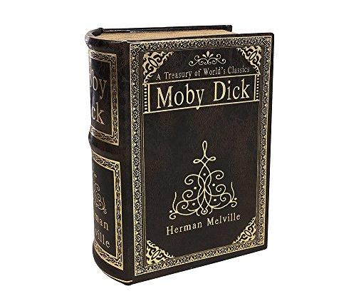 zeitzone Hohles Buch MOBY DICK mit Geheimfach Vintage Buchversteck Antik-Stil