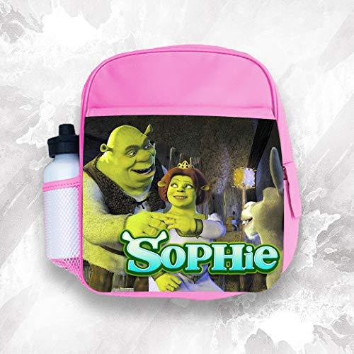 Personalised Kids Backpack Any Name Shrek Girl Childrens School Bag