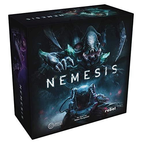 Asmodee Nemesis, Grundspiel, Expertenspiel, Dungeon Crawler, Deutsch