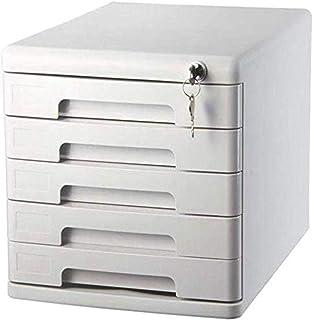 Classeur avec tiroir Classeurs PC de bureau A4 en plastique de données armoire à tiroirs de bureau Classeur Armoire de ran...