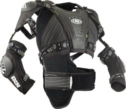 IXS Erwachsene Body Armour Cleaver Jacket, schwarz, ML