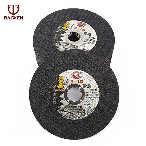 Fantastic Prices! Xucus Cutting Disc 105mm Resin Cut Off Wheel for Iron Metal Stainless Steel Angle ...