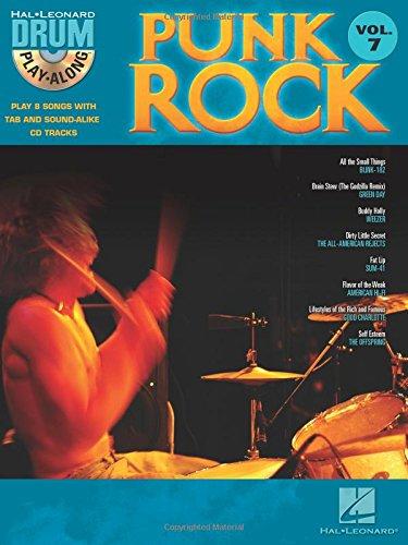 Punk Rock: Noten, CD für Schlagzeug (Drum Play-Along, Band 7)