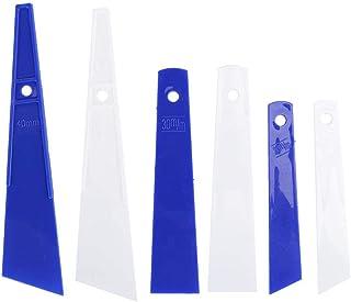 6 Pcs En Plastique Colle Enduire Bâtons Applicateur Colle Épandeurs DIY En Cuir Artisanat Outil Grattoir En Cuir Artisanat...