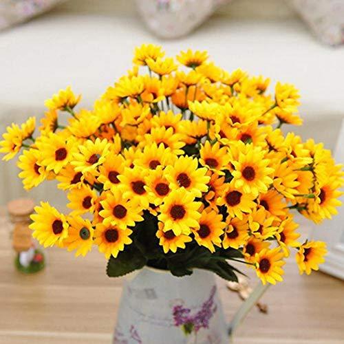 Kemanner Garten - Mini Sonnenblumen Ssamen Samen Blumen Saatgut Mehrjährig Blumensamen für Garten Balkon Blume Pflanzensamen Winterhart