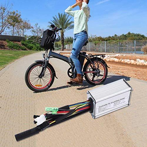 Eulbevoli Veicolo a Guida fluida Migliora l'efficienza operativa 6 Tube 15A Controller, per Bici elettrica