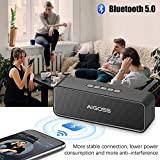 Zoom IMG-1 aigoss altoparlante bluetooth portatile cassa