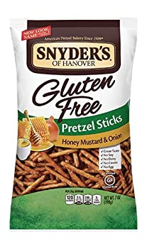 Snyder s of Hanover Gluten Free All Natural Pretzel Honey Mustard and Onion