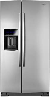 WHIRLPOOL WRS973CIDM 36-inch Wide Side-by-Side Counter Depth Refrigerator with StoreRight(TM) Dual Cooling System - 23 cu. ft.
