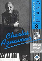Aznavour - Recueil Special Piano + CD