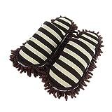 YUENA CARE Zapatillas Mopa - Limpiador de Polvo - Zapatillos de Casa de Baño Engrosado - Extraíble y Lavable #1