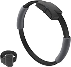 Domary Compatível com Nintendo Switch Ring Fit with Elastic Leg Strap Sport Band Adventure Fitness Sensor Ring-Con + Leg S...