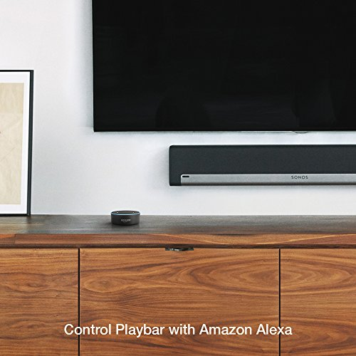 Sonos Playbar - The Mountable Sound Bar for TV, Movies, Music, and More - Black