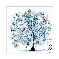 冬 コールドチューン DIY プリント クロスステッチ 11 CT 刺繍キット クロスステッチ 18x18'' 刺しゅうキット クロス 刺繍 キット
