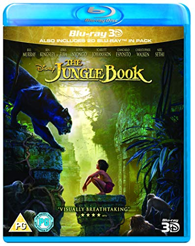 Jungle Book Live Action 3D [Blu-ray] [UK Import]