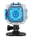 Kinder Kamera,GAKOV GACD WiFi 1280P 2MP Unterwasser Kinderkamera 20m Wasserdicht Sportkamera für...