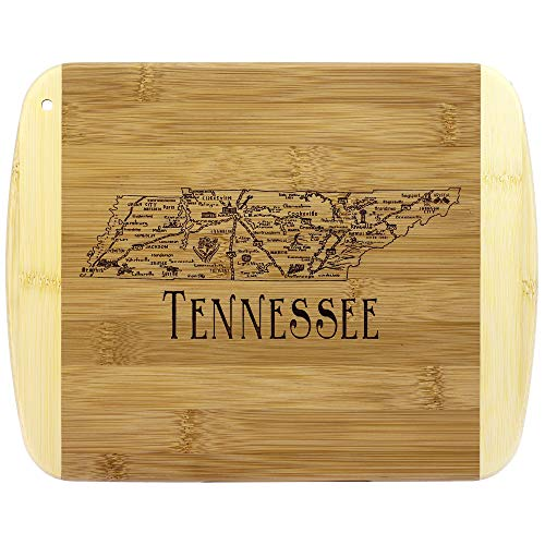 Totally Bamboo A Slice of Life Tennessee Bamboo Serving and Cutting Board