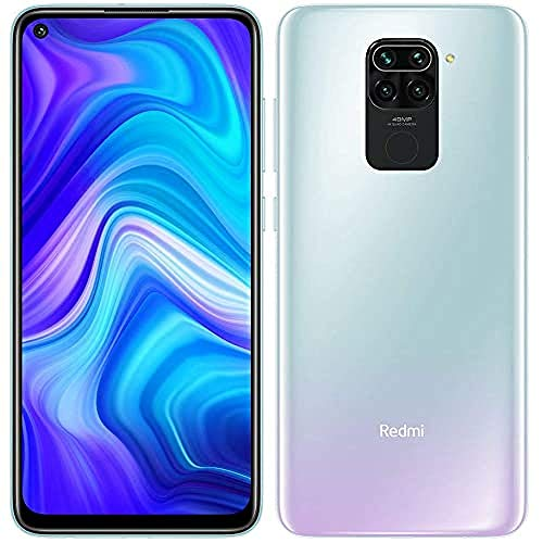 "Xiaomi Redmi Note 9 Smartphone 3Gb 64Gb Quad Hotshot da 48 Mp 6.53""Fhd+ Dotdisplay 5020 Mah 3.5Mm Headphone Jack Nfc Bianca, Polar White"