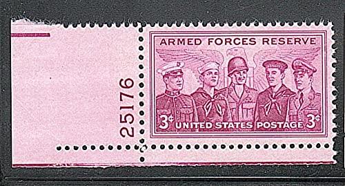 FGNDGEQN Colección de Sellos Estados Unidos 1955 Reservar Fuerzas Sello 1 Full / Digital Ming